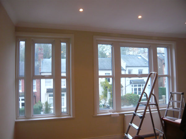 Installation of Silent Gliss Metropoles, blackout curtains and ...