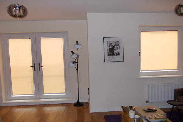 nano blinds for inward opening patio doors and tilt and turn window fitted in north london