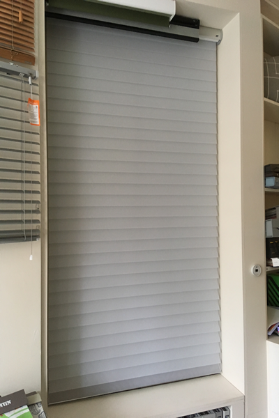 Luxaflex Powerview Silhouette Blind Display North London