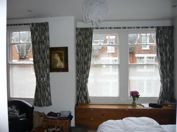 Curtains Ideas blackout pinch pleat curtains : Changing Curtains Highgate North London Pinch pencil goblet pleat ...