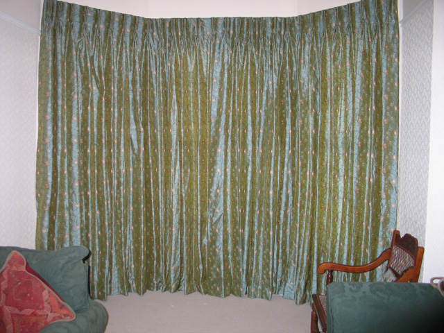 Bay Window Blinds And Curtains American HWY