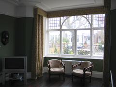Changing Curtains Highgate North London Pinch Pencil