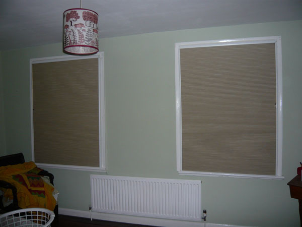 Duette Blinds With Side Channels Installed London For Blackout