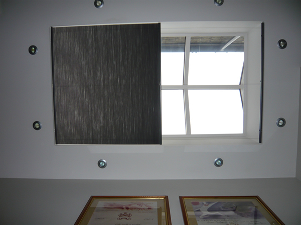 Luxaflex Duette Roof Blind Fitted In Central London