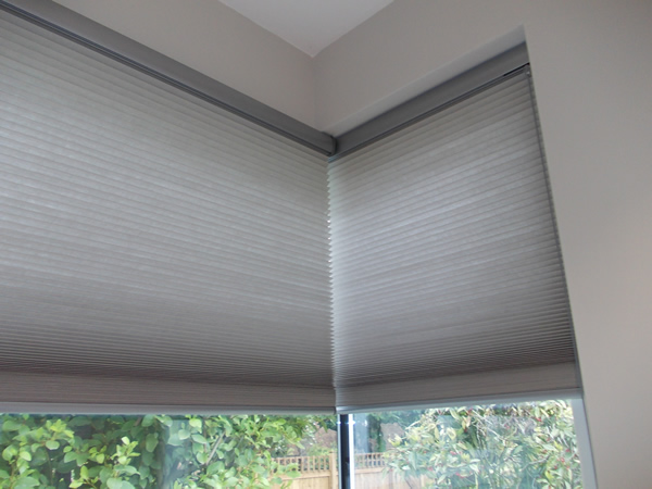 Luxaflex duette blinds with smartcord controls, installed in North ...