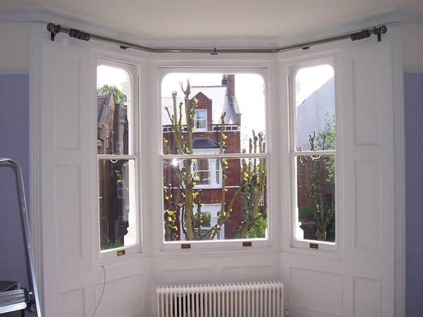 Changing Curtains Highgate North London N6 5BB Poles and Tracks