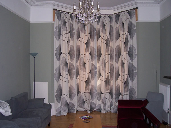 Bradleys 38mm Baypole With Marimekko Curtains