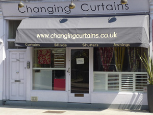 changing Curtains shop in Archway Road Highgate North London