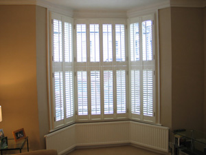 47mm louvres in tier-on-tier style Highgate