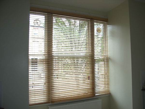 Canadian Maple 50mm Woodslat Blinds Archway North London